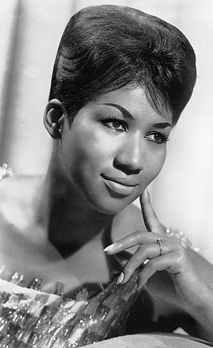 Aretha Franklin, American singer and musician circa 1960s. Courtesy Granamour Weems Collection. Editorial use only.